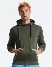 Pure Organic High Collor Hooded Sweat