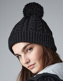 Cable Knit Snowstar® Beanie